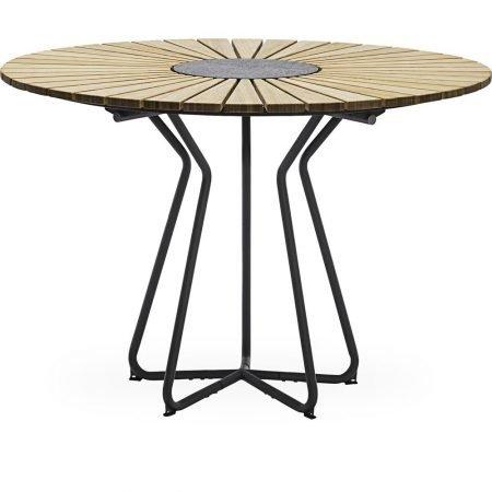 Circle Havebord 110 x 74,5 cm bambus