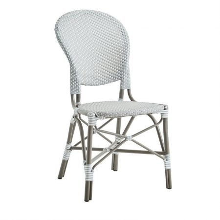 Sika Design Isabell alu stol u/arm - grå