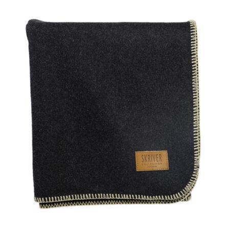 Skriver Collection Wool Plaid Dark Grey