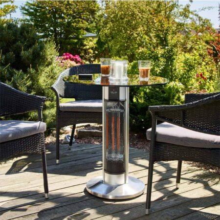 Terrassevarmer cafébord 800/1600 W